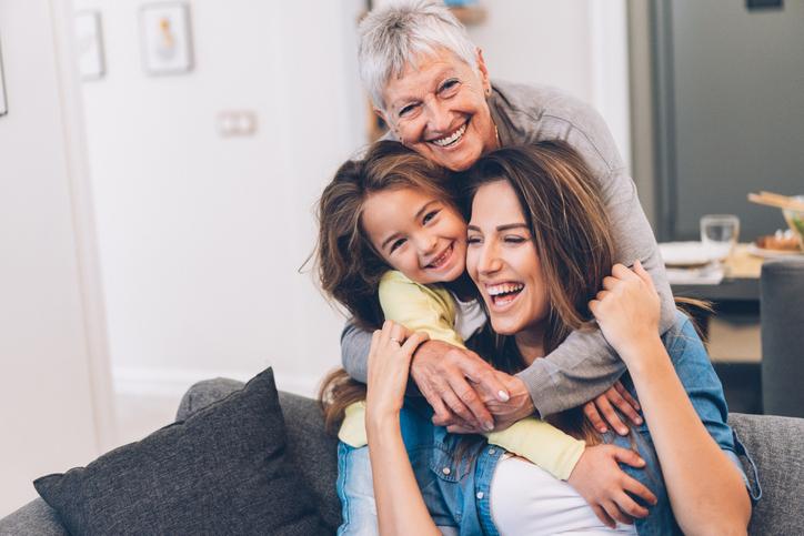 Three Generation women